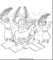 Small Picture amazing palm sunday coloring page with christian easter coloring