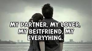 Life Partner Quotes Beauteous My PartnerMy Everything