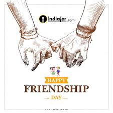 Happy Friendship Day Wishes Creative Designs Template Free