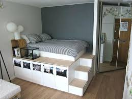 high platform beds with storage. High Platform Bed Cozy Storage Twin Frame . Beds With