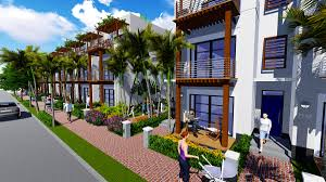 Duplex Designs On Half Plot Of Land Making Walkable Townhouses Affordable For Millennials