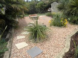 Small Picture Ides portfolio Landscaped garden design using pebbles with