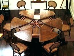 table that expands expanding round dining table round table that expands expanding round table expanding circular table that expands round