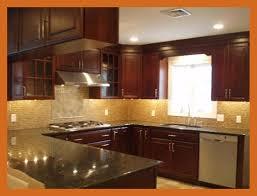 kitchen backsplash cherry cabinets black counter. Kitchen Backsplash For With Cherry Cabinets Best Ideas Black Granite Countertops Pics Of Style And Counter S