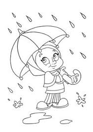 Small Picture Umbrella with Raindrops Spring Coloring Page Spring Hand