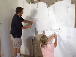 how to finish bat walls without drywall make an unfinished ceiling ideas decorating for cinder block