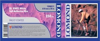 Пленка <b>Lomond</b> XL Vinyl White Self-Adhesive Film, <b>самоклеящаяся</b> ...