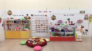 Một số hình ảnh trang trí, làm đồ dùng đồ chơi đầu năm học 2020 - 2021  Trường mầm non Hưng Dũng 2.
