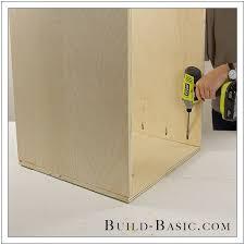 the build basic custom closet system built in closet drawers step 1