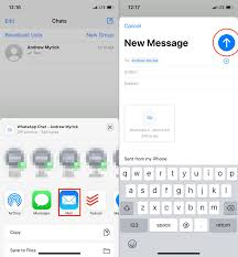 Use icloud drive to back up whatsapp. How To Restore Your Whatsapp Chats From Iphone To Android Android Central