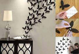 ideas wall art craft ideas butterfly wall decor idea on wall decoration art and craft with wall art ideas