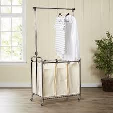 laundry furniture. Wayfair Basics 3 Bag Laundry Center Furniture