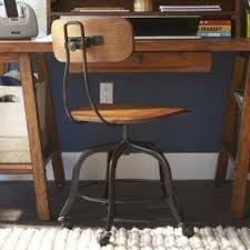 wooden swivel office chair. vintage looking office chair wooden swivel