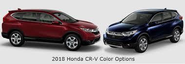 2017 Honda Cr V Color Chart Check Out The 2018 Honda Cr V Exterior Color Options Allan