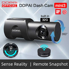 <b>DDPai</b> Dash Cam <b>Mini5</b> 4K 2160P UHD DVR Car Camera Android ...