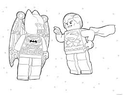 Coloriage Batman Vs Superman Lego Movie Dessin