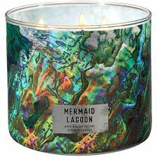bath and works mermaid lagoon candle 40