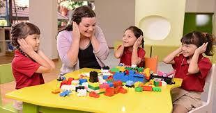 Luyện kỹ năng qua trò chơi tiếng Anh cho trẻ mầm non: vừa học vừa vui