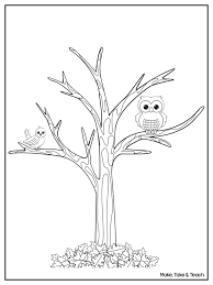 Small Picture Autumn Tree Coloring Page Free Printable Coloring Pages Coloring