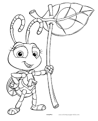 Small Picture atta a bugs life coloring disney coloring pages color plate