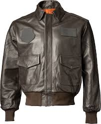 john ownbey leather a 2 army air corps flight jacket brown