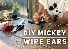 diy mickey wire ears the mouse for