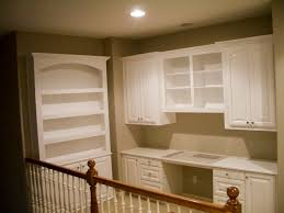 traditional custom home office. Custom Home Office Cabinets Traditional