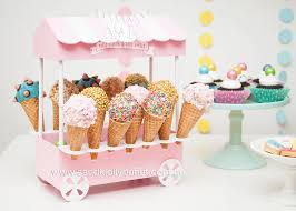 Karas Party Ideas Pastel Ice Cream Themed Birthday Party Karas