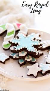 If you plan on decorating cookies, you need an easy royal icing recipe in your baking toolbox! Easy Royal Icing A Latte Food