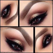 check out the lisa eldridge step by step golden smokey eye makeup tutorial below