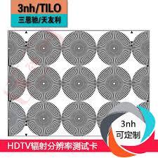 Hdtv Chart Usd 314 64 Hdtv Radiation Resolution Test Card Te237 Hd