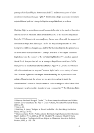 american politics major essay final copy 6 6 passage of the equal rights