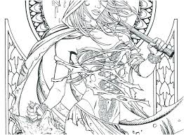 Fairy Tail Coloring Pages Pdf Super Sweet Fairy Tale Coloring Page
