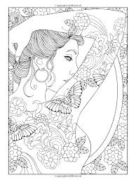 Free Coloring Page Coloring Adult Shoulder