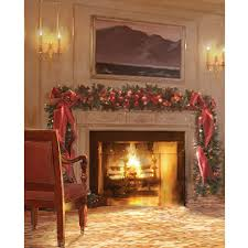 fireplace printed backdrop