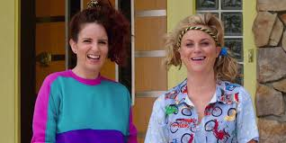 Amy Poehler Birth Plan Heres A First Look At Amy Poehler And Tina Feys Sisters The