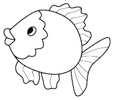 Coloring Pages Of Jellyfish Fish Template Printable To Print Free