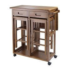 Kitchen Table Drop Leaf Winsome Lynnwood 3 Piece Drop Leaf Small Kitchen Table With 2