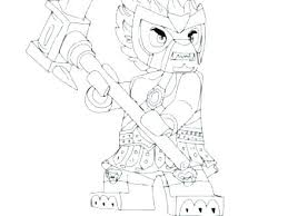 Chima Lego Coloring Pages Pdf Auchmar