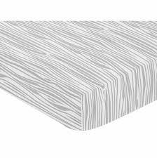 woodland animals collection crib sheet