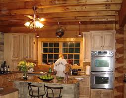 basement track lighting. Basement Wood Ceiling Ideas. Rustic Kitchen Cabinet Wooden Lining And Practic Island Area Track Lighting N
