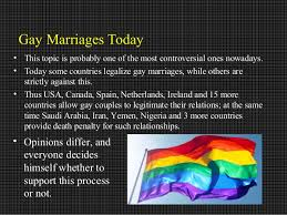 gay marriage research paper gay marriages