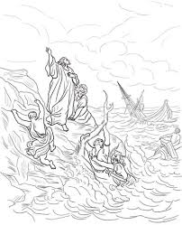 Apostle Paul Shipwrecked Coloring Page Free Printable Coloring Pages