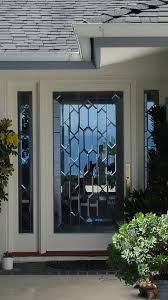beautiful and now sy leaded glass front door in