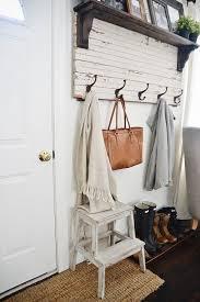 Rustic Entryway Coat Rack DIY Rustic Entryway Coat Rack Entryway coat rack Rustic entryway 7