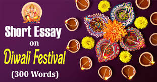 short essay on diwali festival in english words