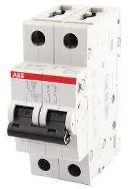 <b>Автоматический выключатель</b> ABB <b>S202</b> 2P (C) 6кА — купить по ...