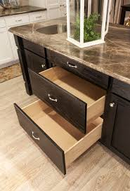 Kitchen Island Base Cabinet Pots Pans Drawers In Kitchen Island The Thoroughbred