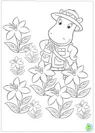Small Picture Backyardigans coloring page to print DinoKidsorg