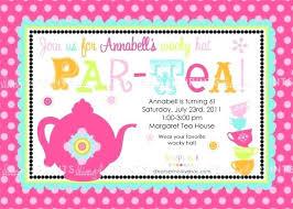 Christmas Tea Party Invitations Invitation To Tea Party Bahiacruiser